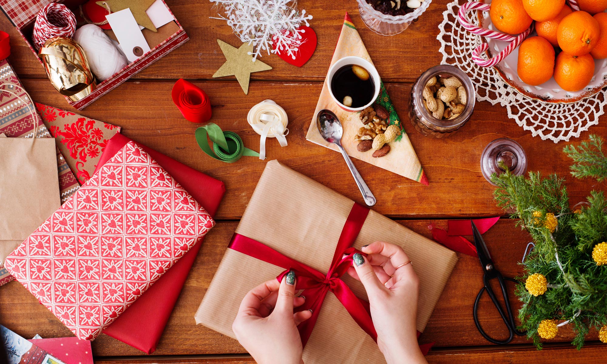 Christmas - Giftwrapping